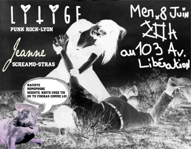 Affiche concert Litige v1